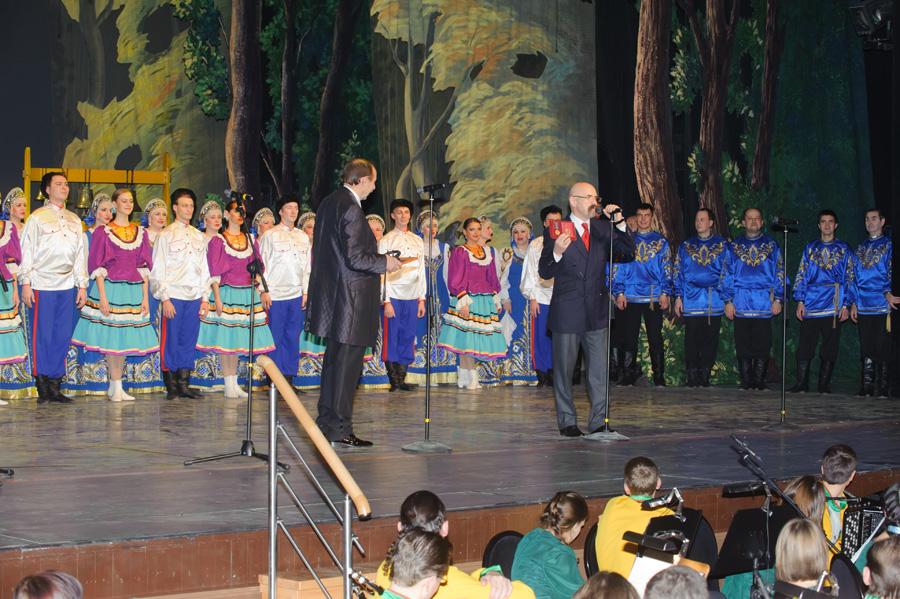 Заключительный концерт юбилейного гастрольного тура, посвященного 60-летию национального академического народного